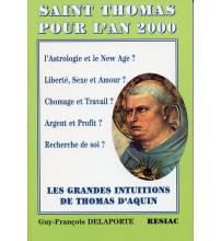 ST THOMAS D AQUIN POUR L'AN 2000