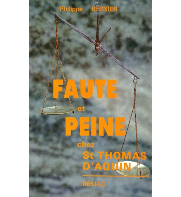 FAUTE ET PEINE CHEZ SAINT THOMAS D'AQUIN