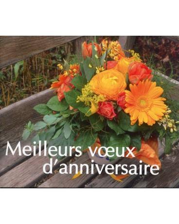 MEILLEURS VŒUX D'ANNIVERSAIRE