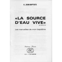 SOURCE D'EAU VIVE (LA)