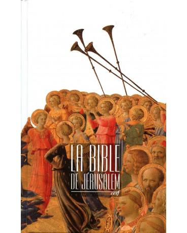 BIBLE DE JERUSALEM 10,5 X 17 cm cartonnée sans étui