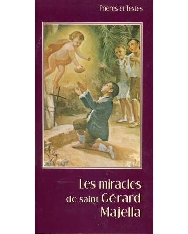 LES MIRACLES DE ST GERARD MAJELLA