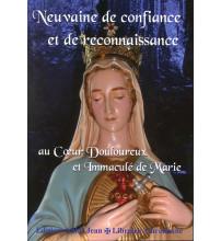 NEUVAINE DE CONFIANCE ET DE RECONNAISSANCE