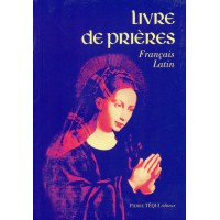 LIVRE DE PRIÈRES FRANÇAIS LATIN