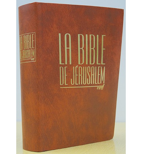 BIBLE DE JÉRUSALEM - COMPACTE - RELUIRE SOUPLE