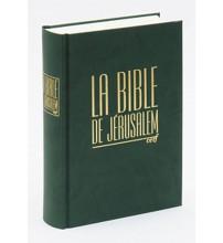 BIBLE DE JÉRUSALEM - COMPACTE - RELUIRE SKIVERTEX VERT