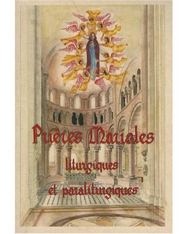 PRIERES MARIALES LITURGIQUES ET PARALITURGIQUES