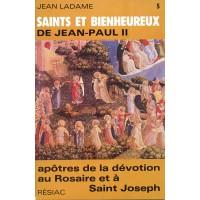 SAINTS ET BIENHEUREUX DE JEAN PAUL II T05 APOTRES DEVOTION