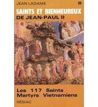 SAINTS ET BIENHEUREUX DE JEAN PAUL II T20/ 117 MARTYRS VIETNAMIENS