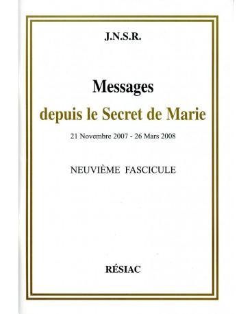 MESSAGES DEPUIS LE SECRET DE MARIE T09