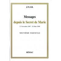MESSAGES DEPUIS LE SECRET DE MARIE Tome 9