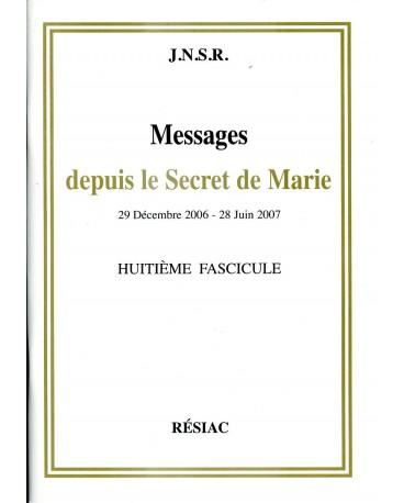 MESSAGES DEPUIS LE SECRET DE MARIE T08