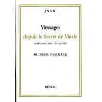 MESSAGES DEPUIS LE SECRET DE MARIE Tome 8