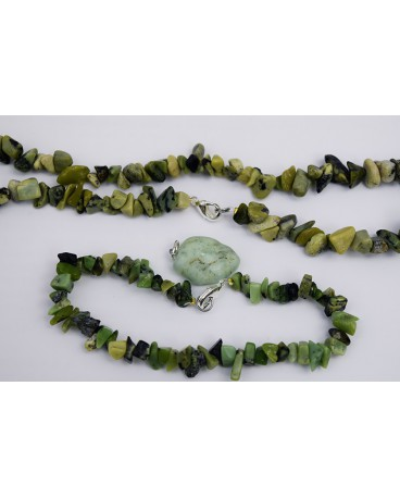 COLLIER CHRYSOPRASE