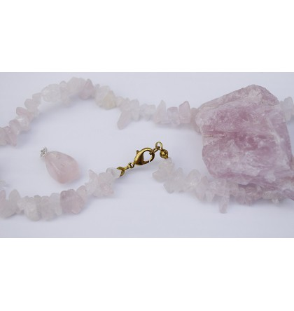 QUARTZ ROSE NATUREL BRACELET