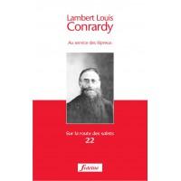 LAMBERT LOUIS CONRARDY AU SERVICE DES LEPREUX