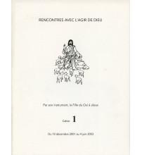 RENCONTRES AVEC L'AGIR DE DIEU - Cahier 1 : 10 DEC 01 AU 4 JUIN 03