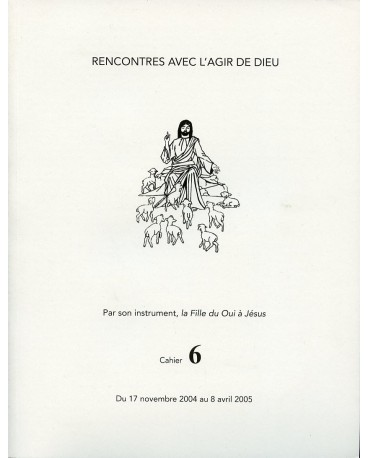 RENCONTRES AVEC L'AGIR DE DIEU - Cahier 6 : 17 NOV 04 AU 8 AVRIL 05