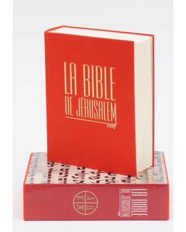 """BIBLE DE JERUSALEM 19 X 23 TOILE BLEUE """"MAJOR"""""""