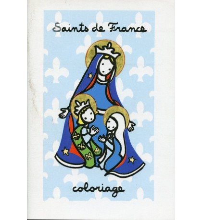 SAINTS DE FRANCE COLORIAGE