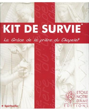 KIT DE SURVIE / CD ROSAIRE AVEC BIBLE + CHAPELET + LIVRET