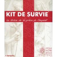 KIT DE SURVIE : Chapelet + Livret de méditation du rosaire + CD mp3