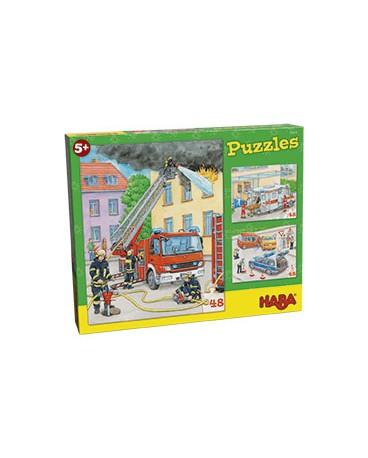 puzzle VÉHICULES D'INTERVENTION