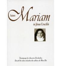SAINTE MARIAM DE JÉSUS CRUCIFIÉ