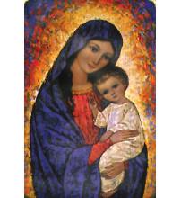 ICONE VIERGE MARIE ET SON ENFANT