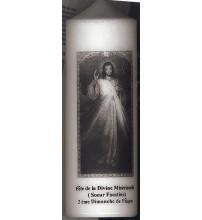 BOUGIE MOIS DE DÉVOTION DIVINE MISERICORDE SR FAUSTINE (2e Dimanche de Pâques)