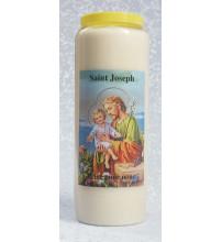 VEILLEUSE DE NEUVAINE ST JOSEPH