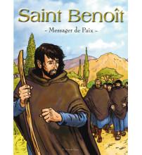 SAINT BENOIT MESSAGER DE PAIX - Bande dessinée couleurs