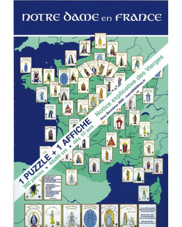 PUZZLE NOTRE-DAME EN FRANCE 260 pièces