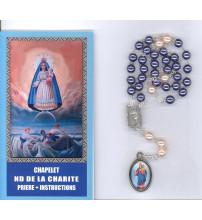 CHAPELET NOTRE DAME DE LA CHARITE + prière