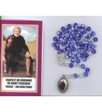 CHAPELET OU COURONNE DE ST PEREGRIN + prière