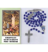 CHAPELET NOTRE DE LA SALETTE + prière