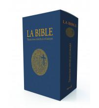 BIBLE (LA) de l'AELF Traduction officielle liturgique - Edition cadeau, tranche dorée