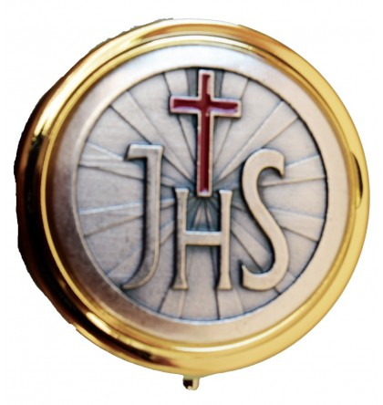 CUSTODE DOREE/ PLAQUE JHS ARGENT