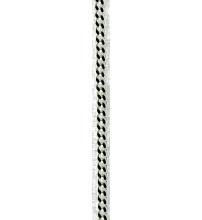CHAINE ARGENT - Maille Gourmette - Longueur 60 cm