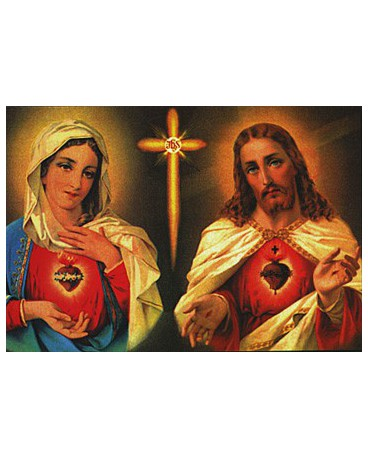 IM SACRES COEURS DE JESUS ET MARIE FT 10,5 x 15 cm