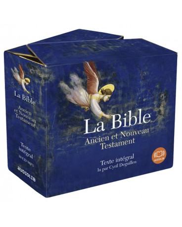 BIBLE (LA) Ancien et Nouv Testament Texte intégral 10 CD MP3