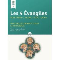 4 ÉVANGILES (LES) Matthieu, Marc, Luc, Jean CD MP3