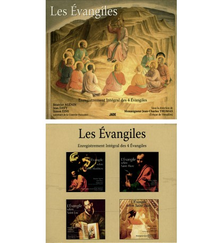EVANGILES (LES) Coffret 9 CD audio des 4 Evangiles Trad Jérusalem