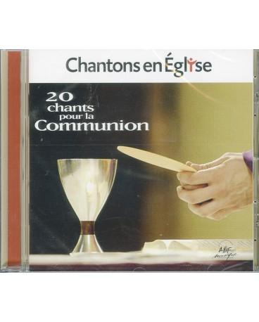 20 CHANTS POUR LA COMMUNION