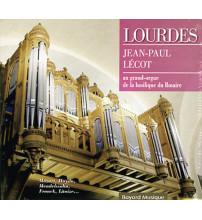 LOURDES Jean-Paul Lécot au grand orgue de la basilique du Rosaire