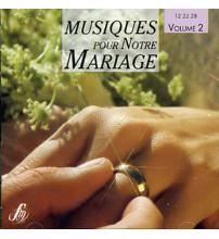 MUSIQUES POUR NOTRE MARIAGE CD 2