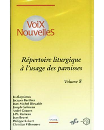 REPERTOIRE LITURGIQUE DES PAROISSES 8