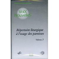 REPERTOIRE LITURGIQUE DES PAROISSES 3