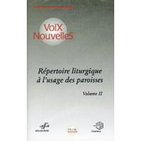 REPERTOIRE LITURGIQUE DES PAROISSES 2