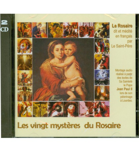 20 MYSTERES DU ROSAIRE J PAUL II (en 2 CD)